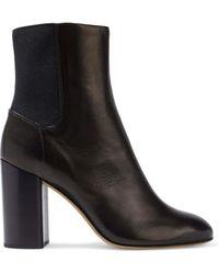 Rag & Bone Agnes Leather Ankle Boots Black