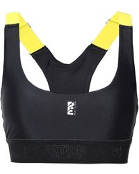 P.E Nation - Stretch Sports Bra Black - Lyst