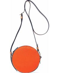 Diane von Furstenberg - Leather-trimmed Calf Hair Shoulder Bag - Lyst