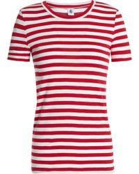 Petit Bateau - Striped Cotton-jersey T-shirt - Lyst