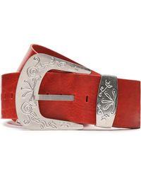 Maison Margiela - Distressed Leather Belt - Lyst
