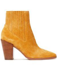 Rag & Bone Suede Ankle Boots - Multicolour