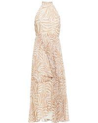 Zimmermann - Sunray Pleated Polka-dot Chiffon Maxi Dress - Lyst