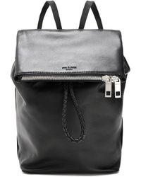 Rag & Bone Textured-leather Backpack Black