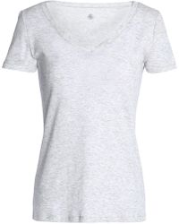 Petit Bateau - Mélange Cotton-jersey T-shirt - Lyst
