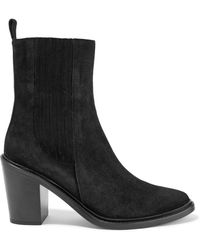 Belstaff - Hannalee Suede Ankle Boots - Lyst