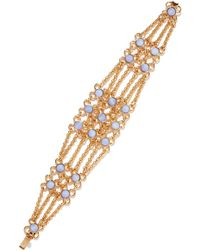 Ben-Amun - Twisted Gold Chain Bracelet - Lyst