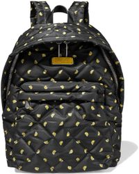Marc By Marc Jacobs - Quilted Printed Shell Backpack - Lyst