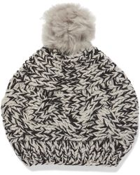 Karl Donoghue - Cable-knit Wool Beanie - Lyst