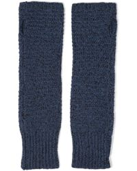 Duffy - Knitted Fingerless Gloves - Lyst