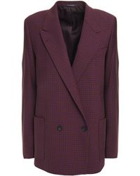 PS by Paul Smith Blazer Aus Flanell Mit Hahnentrittmuster - Mehrfarbig