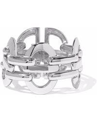 Ben-Amun - Woman Silver-tone Cuff Silver Size -- - Lyst