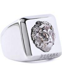 Versus - Silver-tone Ring - Lyst