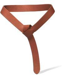 Iris & Ink - Leather Belt - Lyst