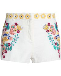 Antik Batik Shorts - White