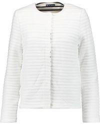 Petit Bateau - Quilted Cotton-blend Jacket - Lyst