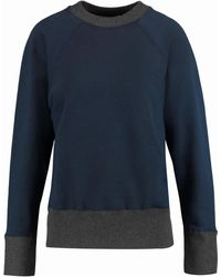 Marni - Panelled Cotton-jersey Sweatshirt - Lyst
