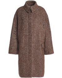 Vanessa Bruno - Herringbone Wool, Alpaca And Silk-blend Coat - Lyst