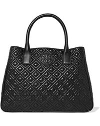 Tory Burch - Marion Quilted Leather Tote - Lyst