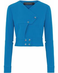 Roland Mouret - Studded Cady Top - Lyst