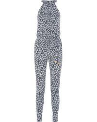 MICHAEL Michael Kors - Printed Woven Jumpsuit - Lyst