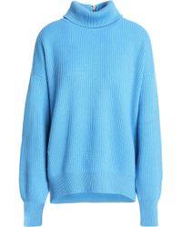 Brunello Cucinelli - Ribbed Cashmere Turtleneck Sweater - Lyst