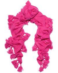 Autumn Cashmere - Tassel-embellished Cashmere Scarf - Lyst