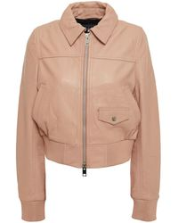 Walter Baker Billie Leather Jacket - Multicolour