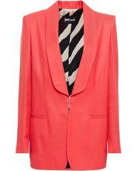 Just Cavalli Twill Blazer - Pink