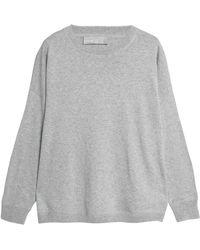 Vince - Mélange Cotton Sweater - Lyst