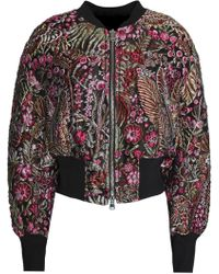 3.1 Phillip Lim - Embroidered Twill Jacket - Lyst