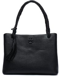 Tory Burch - Taylor Textured-leather Shoulder Bag - Lyst