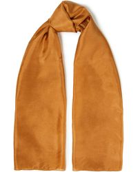American Vintage Washed-silk Scarf - Multicolour