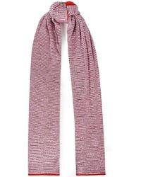 Missoni - Sequin-embellished Crochet-knit Scarf - Lyst