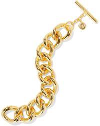 Ben-Amun 24-karat Gold-plated Bracelet Gold - Metallic