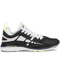 Athletic Propulsion Labs Prism Mesh And Rubber Trainers - Black
