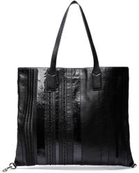 Marc Jacobs - Embellished Textured-leather Tote - Lyst