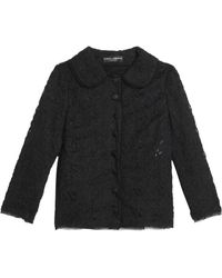 Dolce & Gabbana - Corded Lace Jacket - Lyst