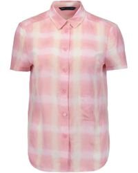 Marc By Marc Jacobs - Printed Cotton And Silk-blend Shirt - Lyst