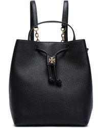 Tory Burch - Georgia Embellished Textured-leather Backpack - Lyst