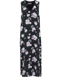 Equipment - Connery Floral-print Washed-silk Midi Dress - Lyst