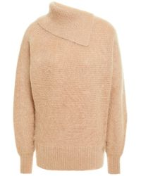Zimmermann Espionage Brushed Mohair-blend Sweater - Multicolor