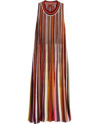 Missoni - Striped Knit Dress - Lyst