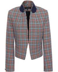 Rag & Bone Elliot Houndstooth Wool-blend Twill Blazer - Multicolour