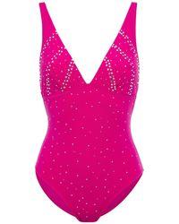 I.D Sarrieri Swarovski Crystal-embellished Swimsuit - Multicolour