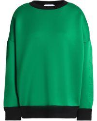 DKNY - Embossed Neoprene Sweatshirt - Lyst