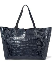Vince - Croc-effect Leather Tote - Lyst