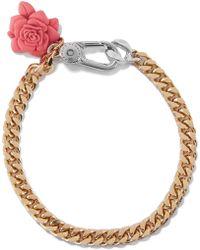 Marc By Marc Jacobs - Jerrie Gold-tone Resin Bracelet - Lyst