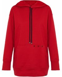 Koral - Studded Cotton-jersey Hoodie - Lyst