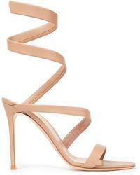 Gianvito Rossi Opera 120 Leather Sandals - Multicolour